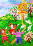 Детский рисунок с Украины