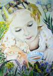 """Рисунок представлена на конкурс """"Зелёная планета глазами детей"""" из Хакасии"""
