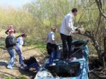 Экологическая акция по очистке притоков Искитимки