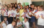 Активистов детских общественных организаций Тамбовской области