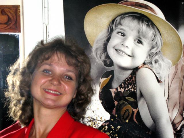 Детская писательница Светлана Савицкая. Фото Владимира Чичмаря