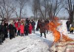 В Амурском областном эколого-биологическом Центре рамках клуба выходного дня состоялся праздник «Весёлая масленица»