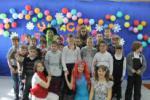 Ребята из благотворительного клуба «Город добрых сердец» организации «САМ» Содружества «Я-МАЛ»