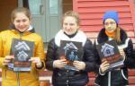 Девчонки из детской организации «ТАИР» Содружества «Я-МАЛ» г. Ноябрьска