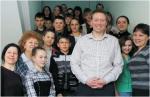 В Листвянке состоялась встреча школьников с представителем посольства Великобритании Мэтью Уэббом